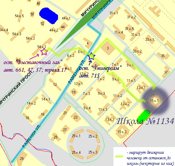 Схема проезда №2 (от